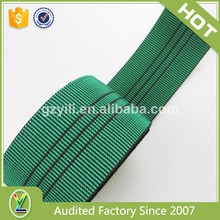 Belt factory hot sale 2016 elastic sofa webbing straps for home furniture