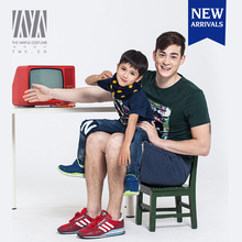 Cute stylish family clothing t shirts sets,short sleeve t shirts for men latest family summer wear