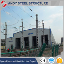 Large span prefabricated steel frame apartment building