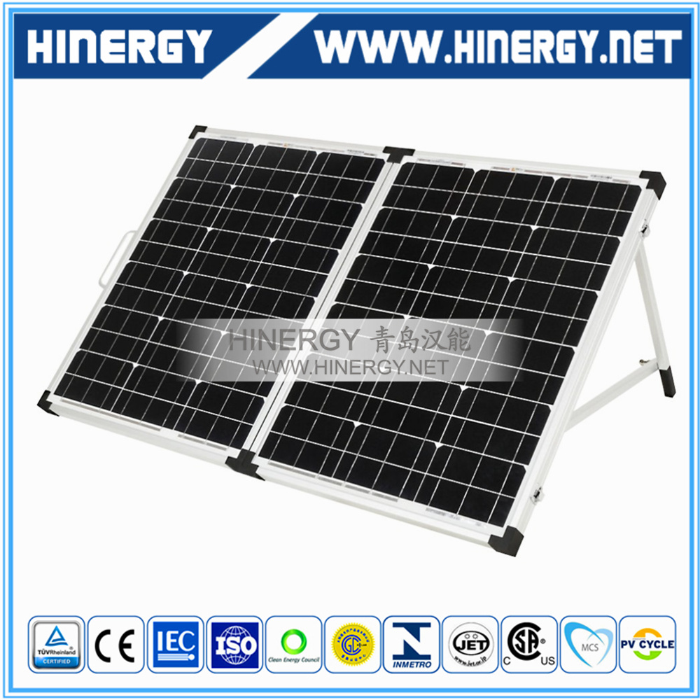 folding for air conditioner home solar system foldable portable solar panel