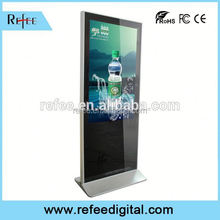 Shopping mall 47 inch pop up advertising, POP floor stand display, LCD TV advertising display