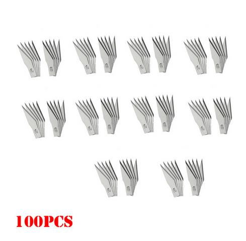 11# surgical knives blades Carving Blade 100pcs / 1pair