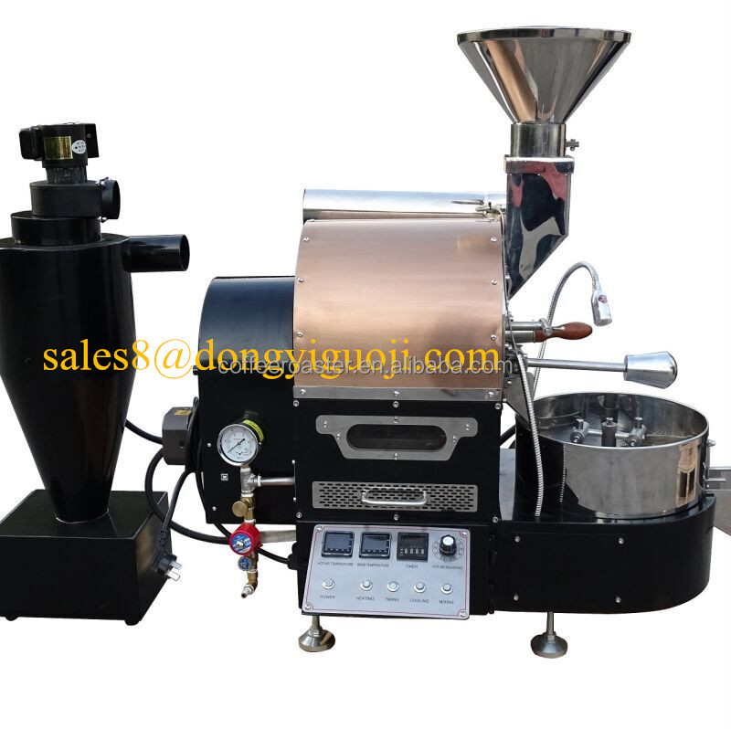 1kg new <strong>gas</strong> or electric coffee roaster DY-1