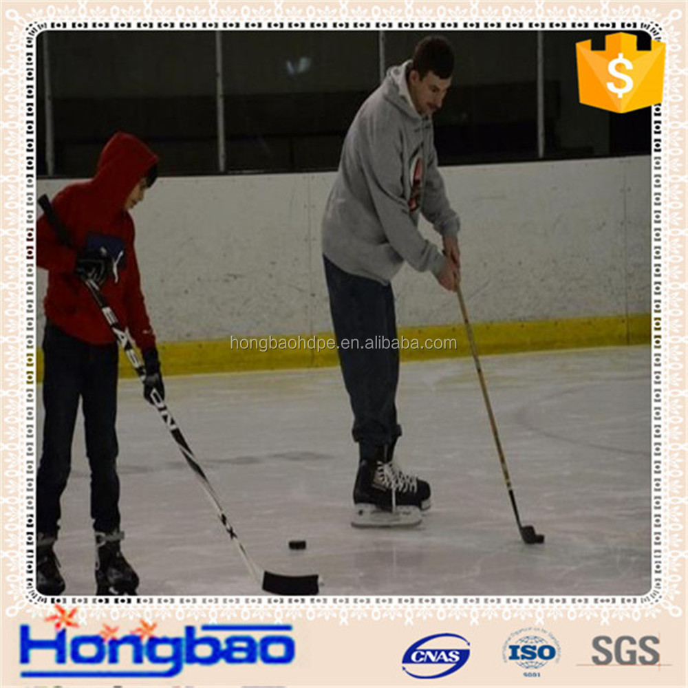 hdpe synthetic ice rink dasher boards/plastic sheet with steel support structure