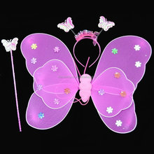 wholesale 3pieces set butterful fairy wing for kids FGWG-1048