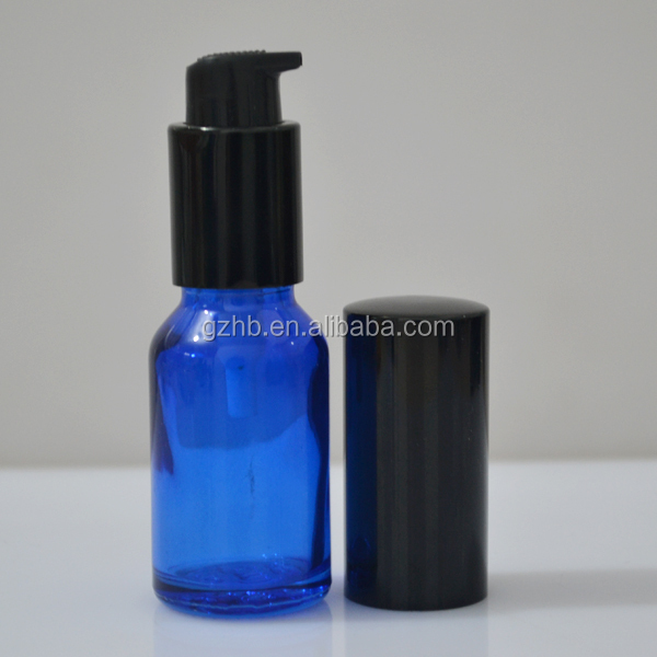glass airless pump bottle/airtight glass bottle olive oil/large glass dropper bottle