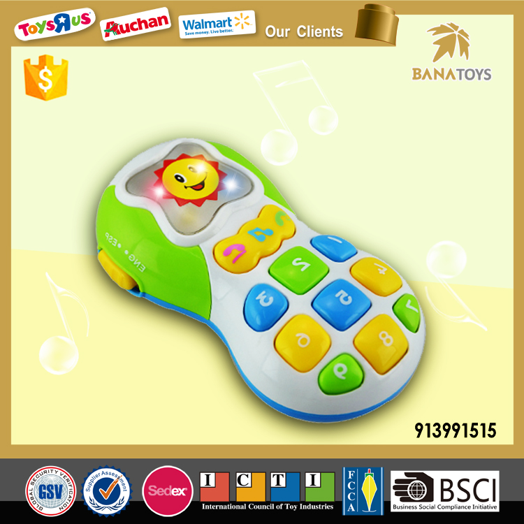 Fun mobile phone for kids music toy
