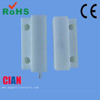 Wired window or door magnetic contacts door sensor for alarm,Extra Home Alarms Accessories