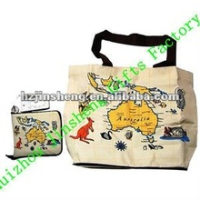 High quality customized canvas cheap tote bag
