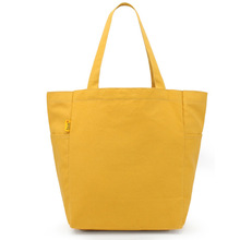 Eco-freindly basix canvas shopping bag