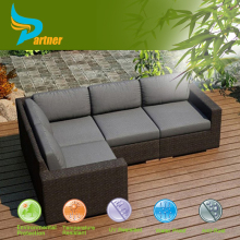 Bench Craft Wicker Furniture Sectional Commercial Restaurant Sofa Outdoor Furniture