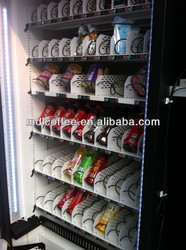 Snack/Cold Drink /Frozen Food/ Bread Vending Machine LV-205L-610
