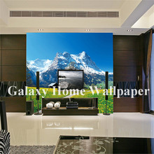 Customized Design Simple Scenery Landscape Wall Murals Digital Printing wallpaper