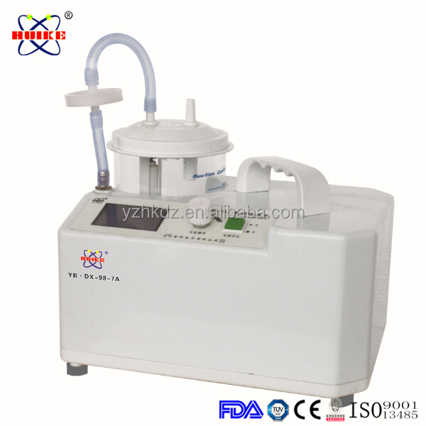 YB-DX-98-7A mobile dental suction unit low-vacuum suction