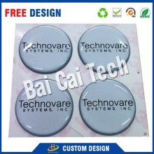 Factory price high quality custom logo 3M adhesive PU epoxy resin sticker, clear dome sticker
