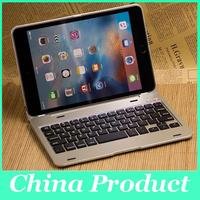 New Design colorful Dustproof 2 in1 Bluetooth 3.0 Wireless Keyboard Foldable Case Stand Cover Holder for iPad Mini 4 010245
