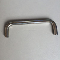 Custom High Quality Polished Stainless Steel Pipe Bending Handle Bracket