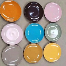 2019 Best seller 10.5inch ceramic glazed dinner <strong>plate</strong> stock , color <strong>plate</strong> stock