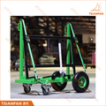 Powder Coated One Side Glass Trolley Rack and Stone Slab Transport Frame