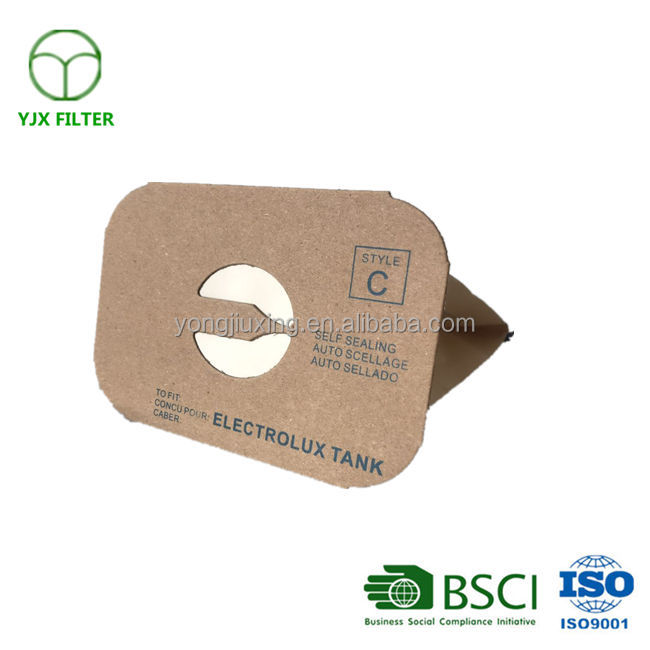Vacuum Cleaner Bag Fits Electrolux Allergy Micro filtration Canister Tank Style C Vacuum Bags