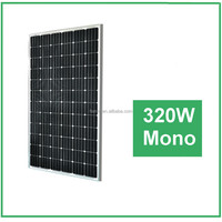 Good Quality 320w Monocrystalline solar panels USD0.48-0.56/watt for solar home system from China
