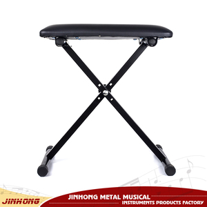 Musical instruments for common use folding keyboard bench