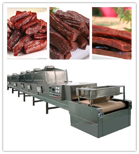 Industrial Microwave Meat Dryer & Sterilizer-beef Jerky Microwave Dryer And Sterilization Machine
