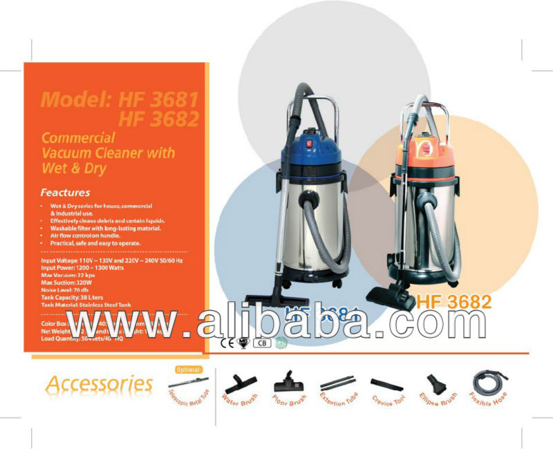 Commercial Vacuum Cleaner - Wet and Dry