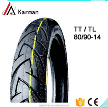 Good Quality Brand Motorcycle Tyres speed race tire 80/90-14