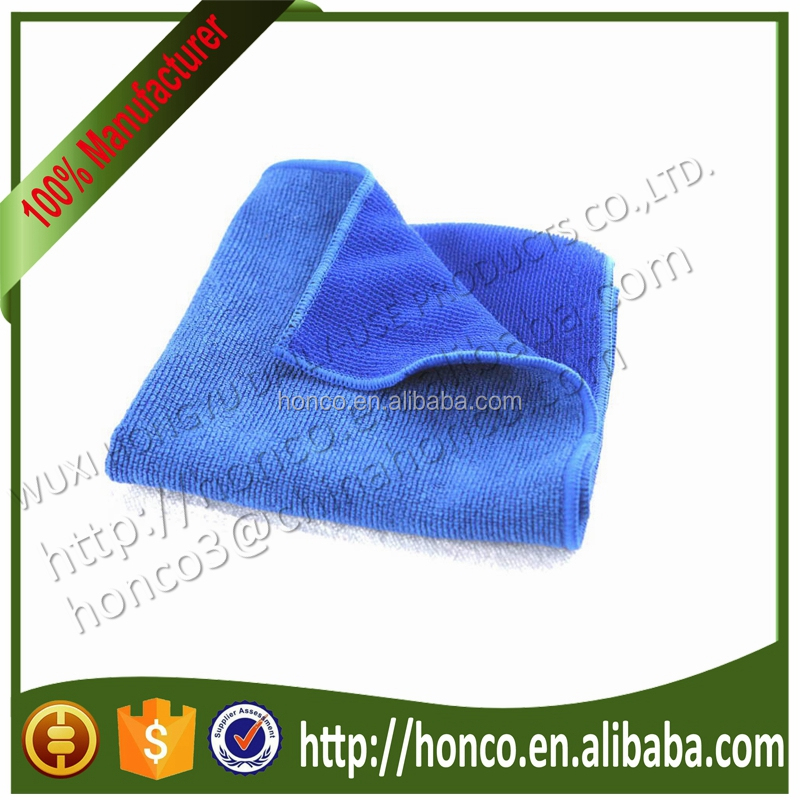 BSCI audit factory Microfiber Scrubber Towel High Quality Kitchen Microfiber Cloth with Nylon Scrubber