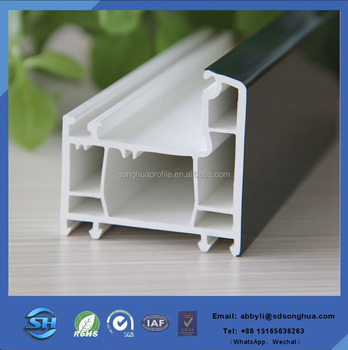 PVC Window frame profile from China Gold manufacturer