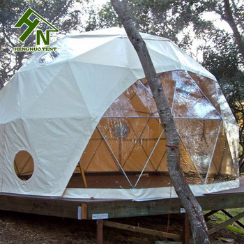 2017 Hot Sale White Outdoor Geodesic Dome C&ing Tent With Bay Window & Dome Tent Dome Tent direct from Guangzhou Hengnuo Tent Technology ...