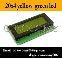 2004 20x4 LCD HD44780 Character Display Module LCM yellow green blacklight 5v or 3.3v