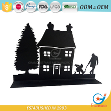 House family wrought iron living room decoration chinese metal christmas ornaments