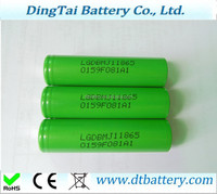 Original LG MJ1 INR18650 3500mah power batteries discharge current up to 10A