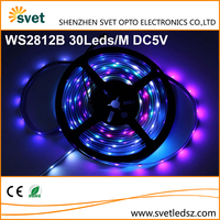 Fully Addressable RGB Led Light Strip WS2812B 30Leds/M 5V