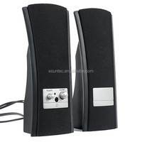 2.0 optical audio computer speakers ST-520A