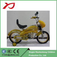new model moto style kids bikes with one piece crank motorcycle bikes pedal bicycles