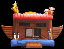 Commercial Inflatable Noah's Ark bouncing castle,bouncy castle,jumping castle