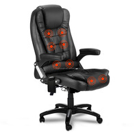 JX-1119 Hot sale in market Cheapest price OEM produce Luxury Genuine Leather Boss Office Chairs with Massage function choiceable