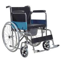 balancing manufacturer chrome plating frame wheel chairs with hand brake