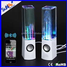 Mini Portable Water Dancing Show Wireless Bluetooth Speaker with Led Color Light