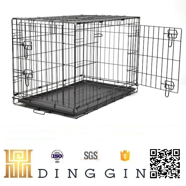 China factory wholesale pet cage, dog crate, dog kennel