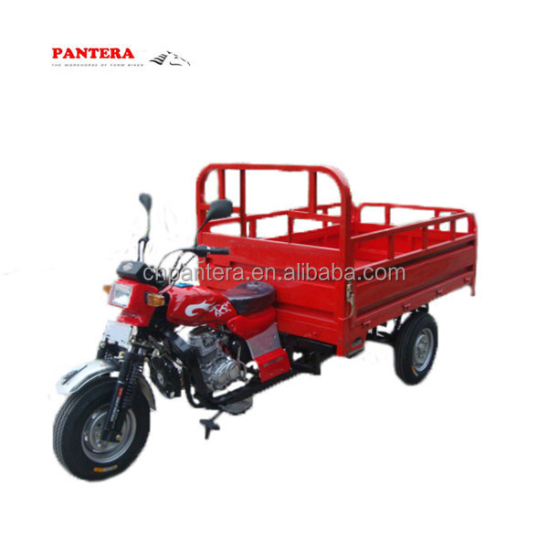 Water Cooling 4 Stroke Cargo Carrier Tricycle