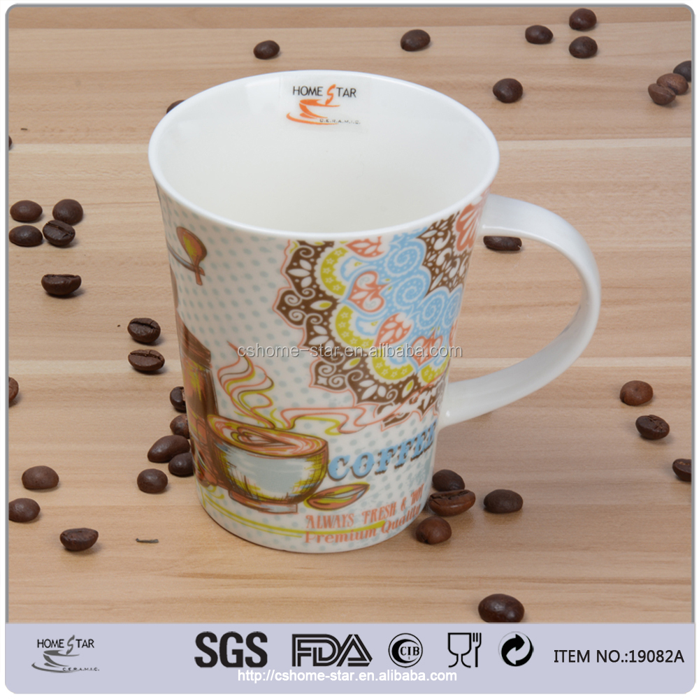 Promotional ceramic bulk coffee mugs