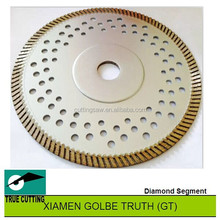 Thin Turbo Saw Blades for granite cutting