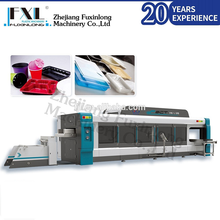 FSCT-770/570 Pressure and vacuum thermoforming machine with steel rule die cutting
