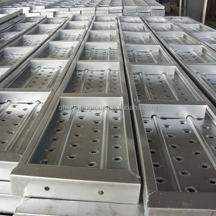 2015 best selling construction material scaffold board dimensions/metal decking/steel deck with best price