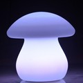 LED shine flashing mushroom table lamp