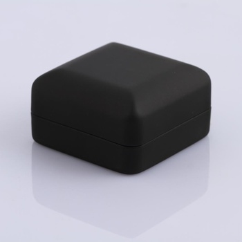 high quality pu leather jewellry display ring box